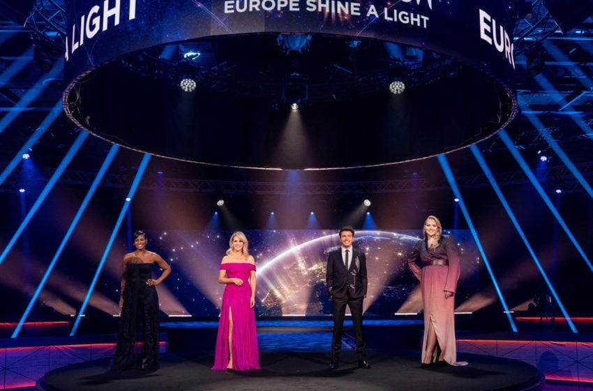 73 millions de personnes à l'écoute de l'Eurovision : Europe Shine A Light