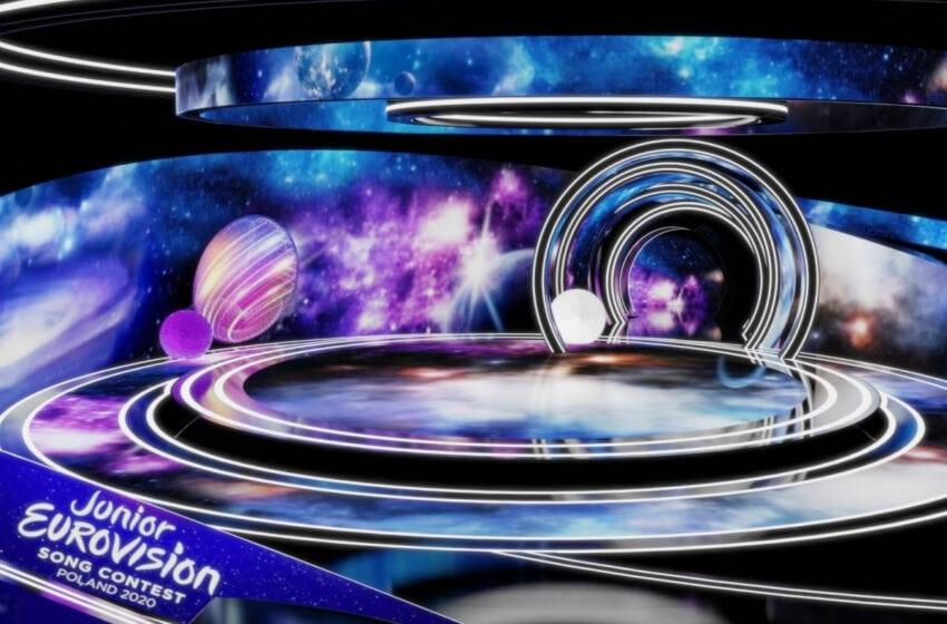 Découvrons la scénographie du concours Eurovision Junior 2020
