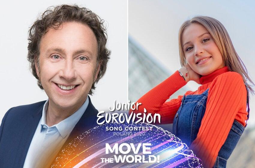 Stéphane Bern & Carla commenteront la finale du concours Eurovision Junior 2020