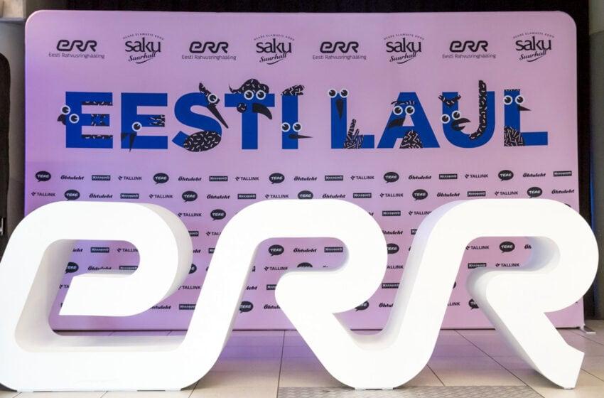 Estonie 2021 : 156 chansons soumises à l'Eesti Laul 2021
