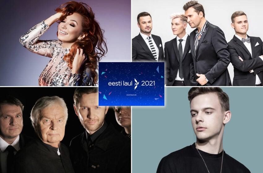 Le retour d'anciens représentants de l'Estonie à l'Eesti Laul 2021