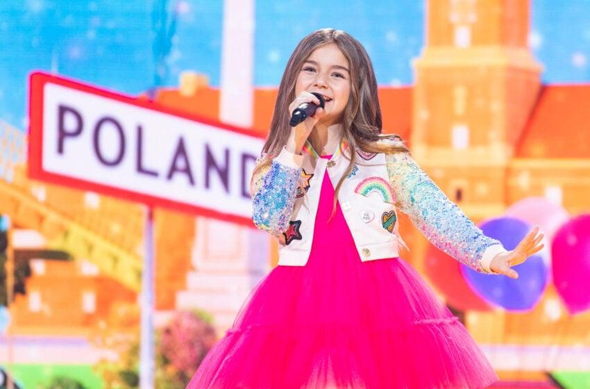 Valentina remporte le concours Eurovision Junior 2020