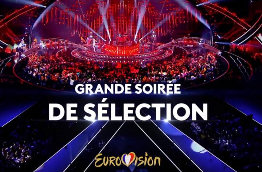 France 2021 : Pastille Eurovision pour annoncer les finalistes