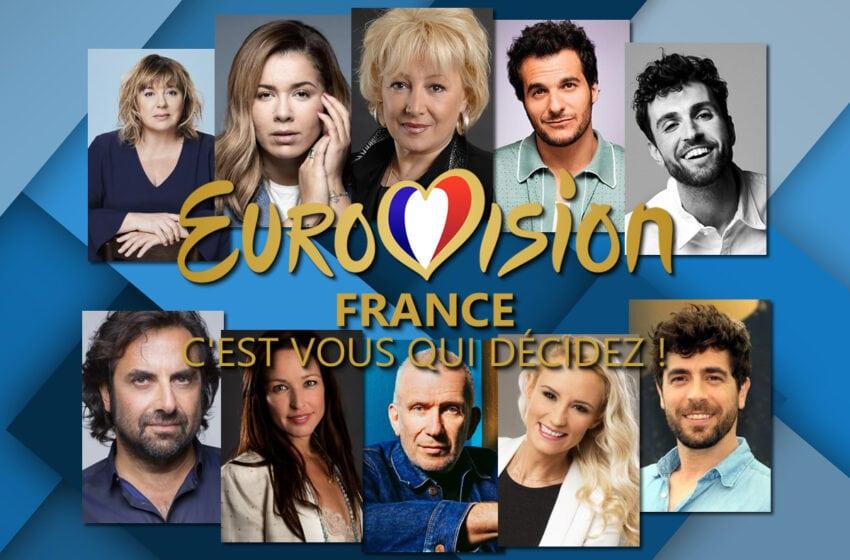 Révélation du format Eurovision France : c'est vous qui décidez !