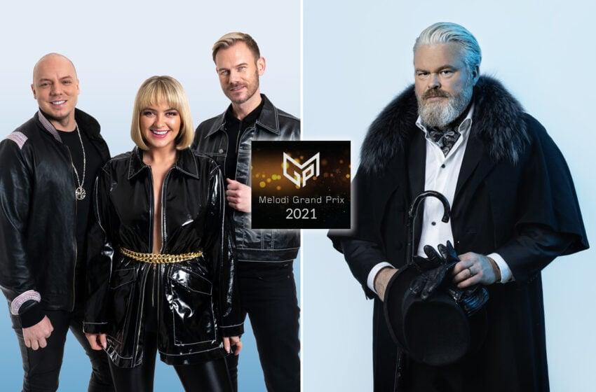 Révélations des premiers finalistes du Melodi Grand Prix 2021