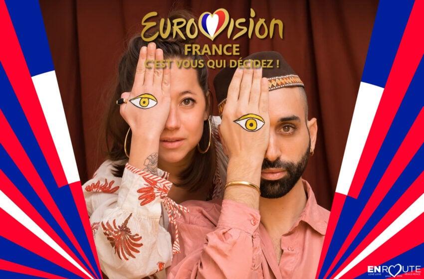 Eurovision France 2021, c'est vous qui décidez : Andriamad – Alléluia