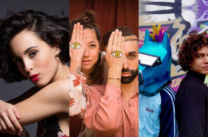Andriamad, Barbara Pravi et Pony X sur le podium du Grand Vote En Route Eurovision France, c'est vous qui décidez !