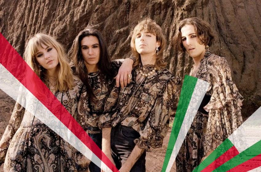 Maneskin a dit OUI pour représenter l'Italie à l'Eurovision 2021