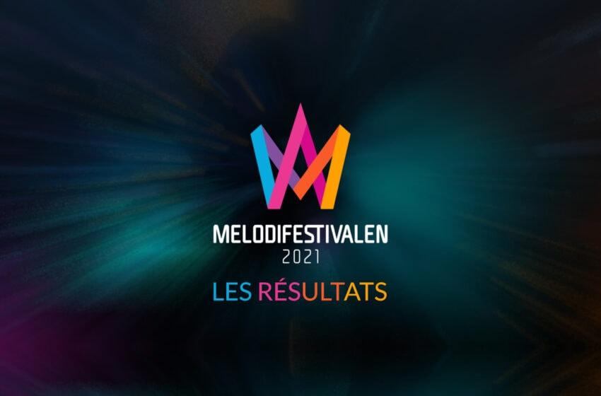 Découvrez tous les résultats du Melodifestivalen 2021