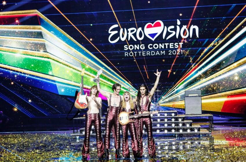 L'Italie avec Måneskin vainqueur du concours Eurovision 2021