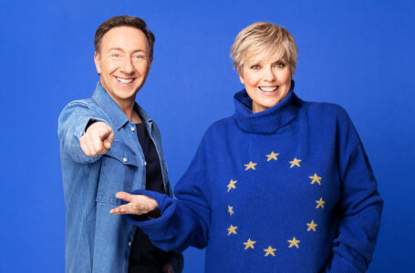 Laurence Boccolini et Stéphane Bern pour la saison Eurovision 2022
